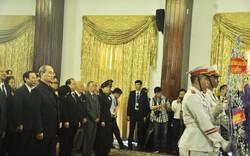 Trang nghiêm Lễ viếng Chủ tịch nước Trần Đại Quang tại Hội trường Thống Nhất TP HCM