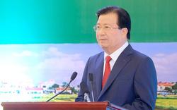 Phó Thủ tướng Trịnh Đình Dũng yêu cầu đảm bảo tiến độ Dự án Cảng hàng không quốc tế Long Thành