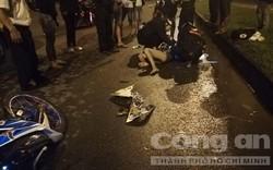 """Hai """"chân dài"""" chạy xe tông mất mạng người đàn ông đi bộ trên đường"""