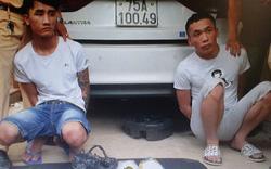 Đi taxi vận chuyển 2 kg ma túy từ Nghệ An vào Quảng Trị