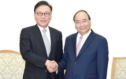 Thủ tướng Nguyễn Xuân Phúc tiếp Tổng Lãnh sự Danh dự Việt Nam tại khu vực Busan- Kyeongnam