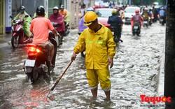 Cảnh bảo ngập lụt khu vực nội thành Hà Nội