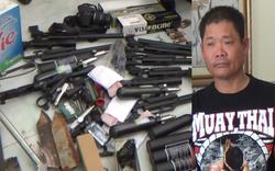 """""""Kho vũ khí"""" thu được tại nơi ở của đối tượng Lê Quốc Bình"""