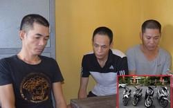 Triệt phá băng nhóm chuyên đột nhập nhà dân trộm xe máy