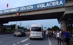 """Tình trạng đón trả khách """"tự do"""" trên cao tốc Hà Nội – Bắc Giang"""