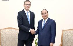 Thủ tướng Nguyễn Xuân Phúc tiếp Bộ trưởng Ngoại giao Estonia Sven Mikser