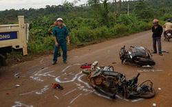 Hai vụ xe máy đâm nhau, ba người tử vong