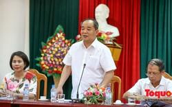 Thứ trưởng Lê Khánh Hải làm việc với Sở Văn hóa, Thể thao và Du lịch Bắc Kạn về công tác cải cách hành chính