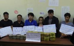 6 đối tượng vận chuyển 15kg ma túy đá, 20 bánh heroin vào Việt Nam