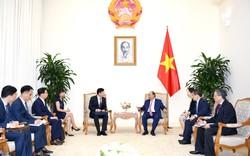 Thủ tướng tiếp một  loạt doanh nghiệp nước ngoài tìm cơ hội kinh doanh ở Việt Nam