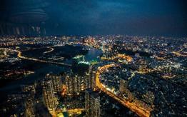 """Hé lộ hình ảnh """"độc nhất vô nhị"""" đầu tiên từ đài quan sát cao nhất Đông Nam Á giữa Sài Gòn"""