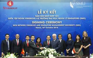 Vingroup và Đại học Quản lý Singapore hợp tác nâng cao năng lực quản trị