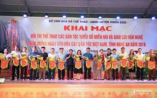 Hội thi thể thao các dân tộc thiểu số tỉnh Nghệ An năm 2019