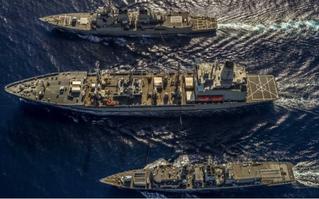 Trung Quốc thực hành cường quốc biển