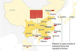"""Một nhà khoa học Trung Quốc muốn """"phong tỏa"""" thành phố Vũ Hán, virus đã lây nhiễm 440 người, 9 trường hợp tử vong"""