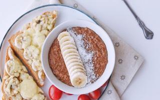 Thực đơn giảm cân không thể thiếu món yến mạch ngon lành cho bữa sáng