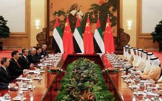 """UAE """"tiến thoái lưỡng nan"""" giữa Mỹ - Trung trong cuộc """"chinh phục"""" vùng Vịnh"""