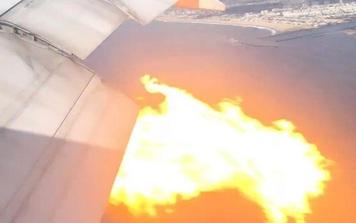 Khói bốc mù mịt, động cơ tóe lửa: Hàng không Philippines hạ cánh khẩn tại Mỹ