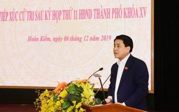 """Chủ tịch UBND TP. Hà Nội Nguyễn Đức Chung: """"Tôi đọc nguyên văn theo báo cáo của văn phòng"""""""