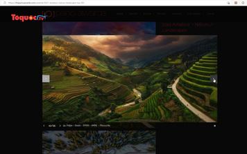 Ảnh thửa ruộng bậc thang Việt Nam lọt top những bức ảnh ấn tượng nhất thế giới