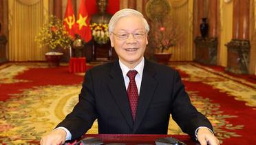 Tổng Bí thư, Chủ tịch nước Nguyễn Phú Trọng: Chúc mỗi gia đình, mỗi người dân Việt Nam một năm mới nhiều sức khỏe, niềm vui, hạnh phúc và thành công