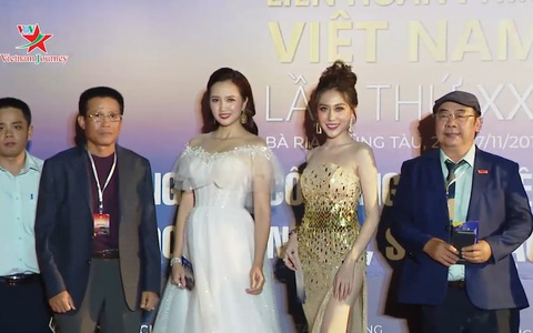 Liên hoan phim Việt Nam lần thứ 21 - Sôi động khu vực thảm đỏ