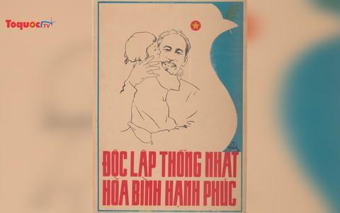 Học tập và làm theo tấm gương Hồ Chí Minh qua những bức tranh cổ động