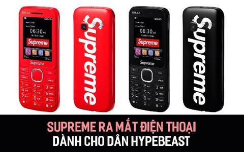 Supreme ra mắt điện thoại dành cho dân Hypebeast
