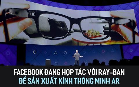 Facebook đang hợp tác với Ray Ban để sản xuất kính thông minh AR