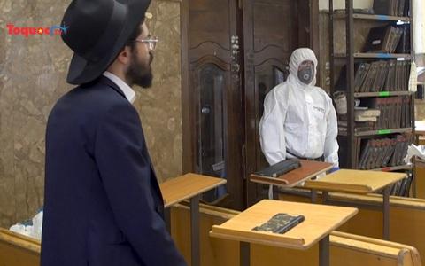 Israel sắp cho ra đời khẩu trang có thiết kế đặc biệt cho người có râu