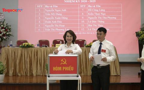 Đảng bộ Thư viện quốc gia Việt Nam tổ chức thành công Đại hội lần thứ IV nhiệm kỳ 2020-2025