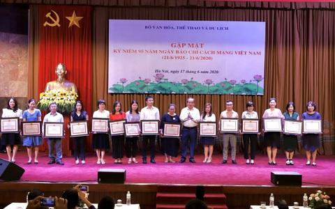 Bộ VHTTDL tổ chức Gặp mặt Kỷ niệm 95 năm Ngày Báo chí Cách mạng Việt Nam
