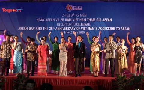 Kỷ niệm 53 năm thành lập ASEAN và 25 năm Việt Nam gia nhập ASEAN