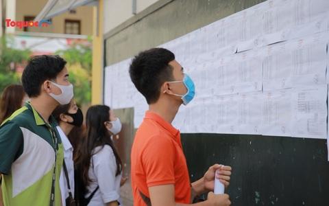 Tổ chức thi lại cho 9 phòng thi tại 3 tỉnh vào ngày 11/8