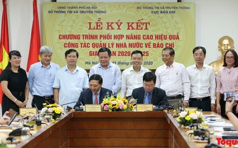 Hà Nội: Phối hợp nâng cao hiệu quả công tác quản lý nhà nước về báo chí