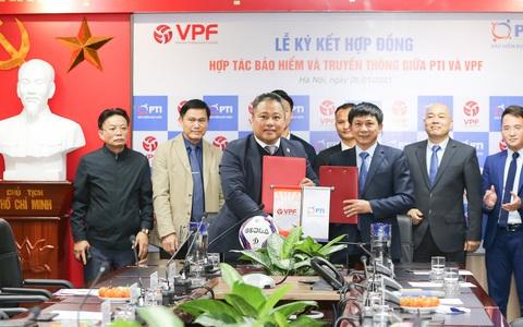 PTI năm thứ 4 liên tiếp đồng hành cùng VPF đóng góp cho sự phát triển của bóng đá Việt Nam