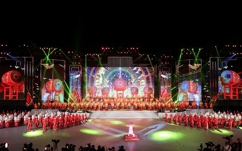 ''Khát vọng - Tỏa sáng'' - chương trình nghệ thuật đặc biệt chào mừng thành công Đại hội XIII của Đảng