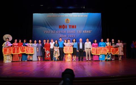 Nữ Công đoàn viên Bộ VHTTDL: Duyên dáng và đầy tài năng