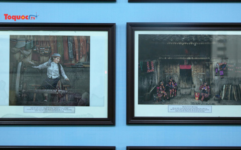 Triển lãm trưng bày 120 bức ảnh mang đậm sắc màu Việt Bắc
