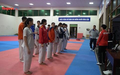 Đội tuyển Taekwondo Việt Nam đặt mục tiêu vượt qua vòng loại Olympic