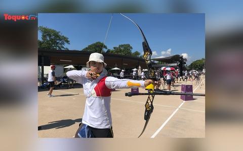 Bắn cung mở màn cho chiến dịch Olympic Tokyo 2020