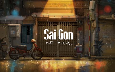 Triển lãm dự án nghệ thuật ''Sài Gòn có mưa