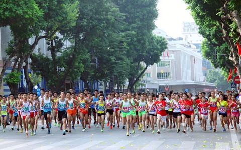 1.500 VĐV tham gia Giải chạy Báo Hà Nội Mới lần thứ 45