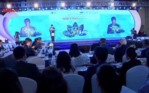 Sôi nổi phiên làm việc thứ nhất của Diễn đàn cấp cao Du lịch Việt Nam 2018