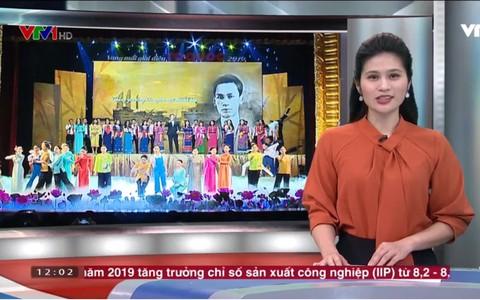 VTV đưa tin về chương trình nghệ thuật đặc biệt Vang mãi giai điệu Tổ Quốc 2019