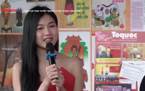 Lương Thanh chia sẻ việc mang bầu trong phim ''Những cô gái trong thành phố''