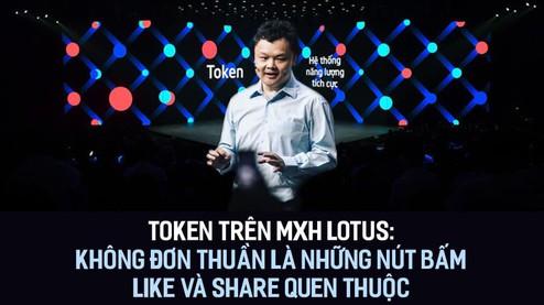 Token trên MXH Lotus: Không đơn thuần là những nút bấm Like và Share quen thuộc