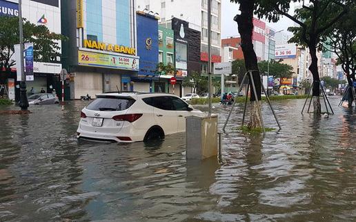 Hôm nay, mưa to trút xuống khu vực Quảng Trị - Quảng Ngãi