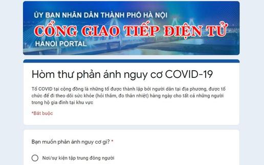 Người dân Hà Nội có thể phản ánh nơi tụ tập đông người qua 3 kênh thông tin này