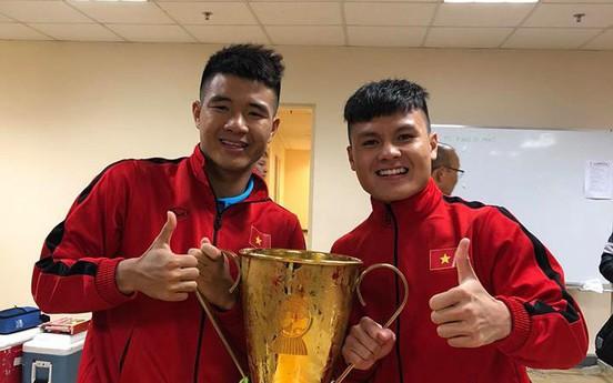 Sau chiến thắng AFF Cup, cầu thủ viết những điều ít ai ngờ